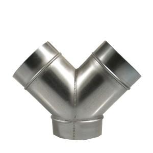 Y-Stück Metall