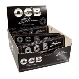 OCB Premium Slim schwarz Karton 50/32