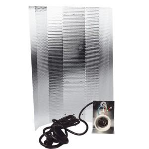 Reflektor Mithralit-Beschichtung mit Fassung, Kabel, Stecker