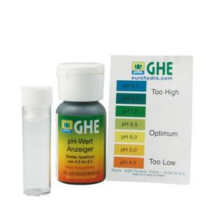 pH Test-Set mit Indikatorflüssigkeit