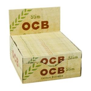 OCB Organic Hemp King Size Slim 1 Karton 50/32