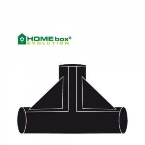 Homebox T-Verbinder 22 mm 2 Stk