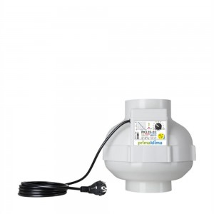 PK Ventilator 125 mm, EC Multispeed 680 m²