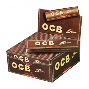 OCB Virgin Slim unbleached  Karton 50/32