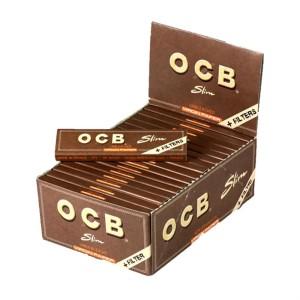 OCB Virgin Slim mit Tips  Karton 32/32