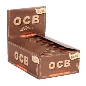 OCB Virgin Rolls Slim Karton 24 Stück
