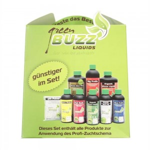 Green Buzz Liquids Starter Set Profi