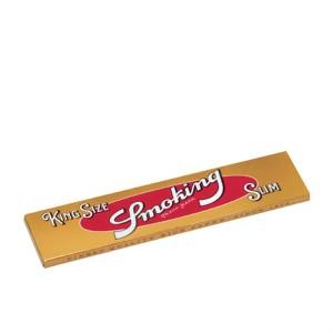 Smoking gold King Size slim