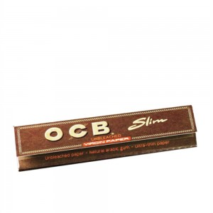 OCB Virgin Slim unbleached