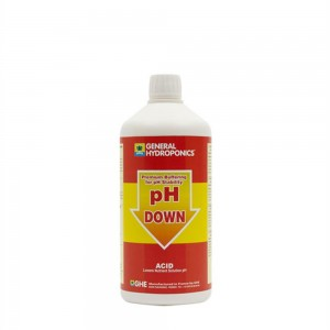 General Hydroponics pH- Buffer 1 Liter