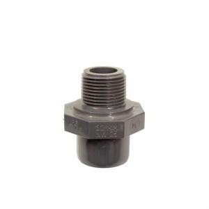 "PVC Nippel 32 mm - 3/4""AaG"