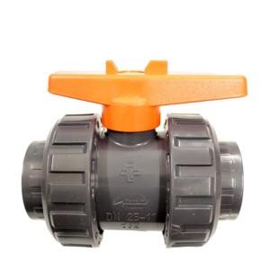 PVC Kugelhahn mit 32 mm Muffe