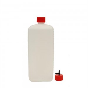 Plastikflasche mit Luftauslass im Deckel 1000 ml