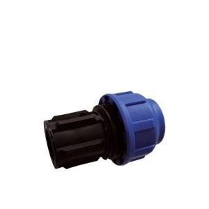 Klemmring Verschraubung Endstück für 25 mm PE-Rohr