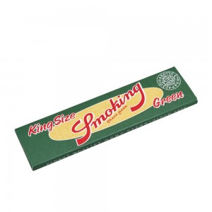 Smoking grün King Size Hanf