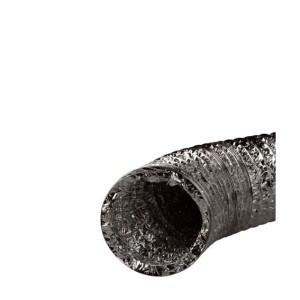 Spiral Luftschlauch Alu 102 mm, 1 m