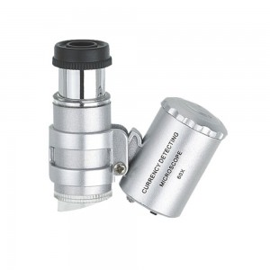 Taschenmikroskop 60-fach