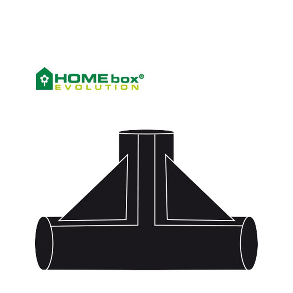 Homebox T-Verbinder 22 mm 2 Stk
