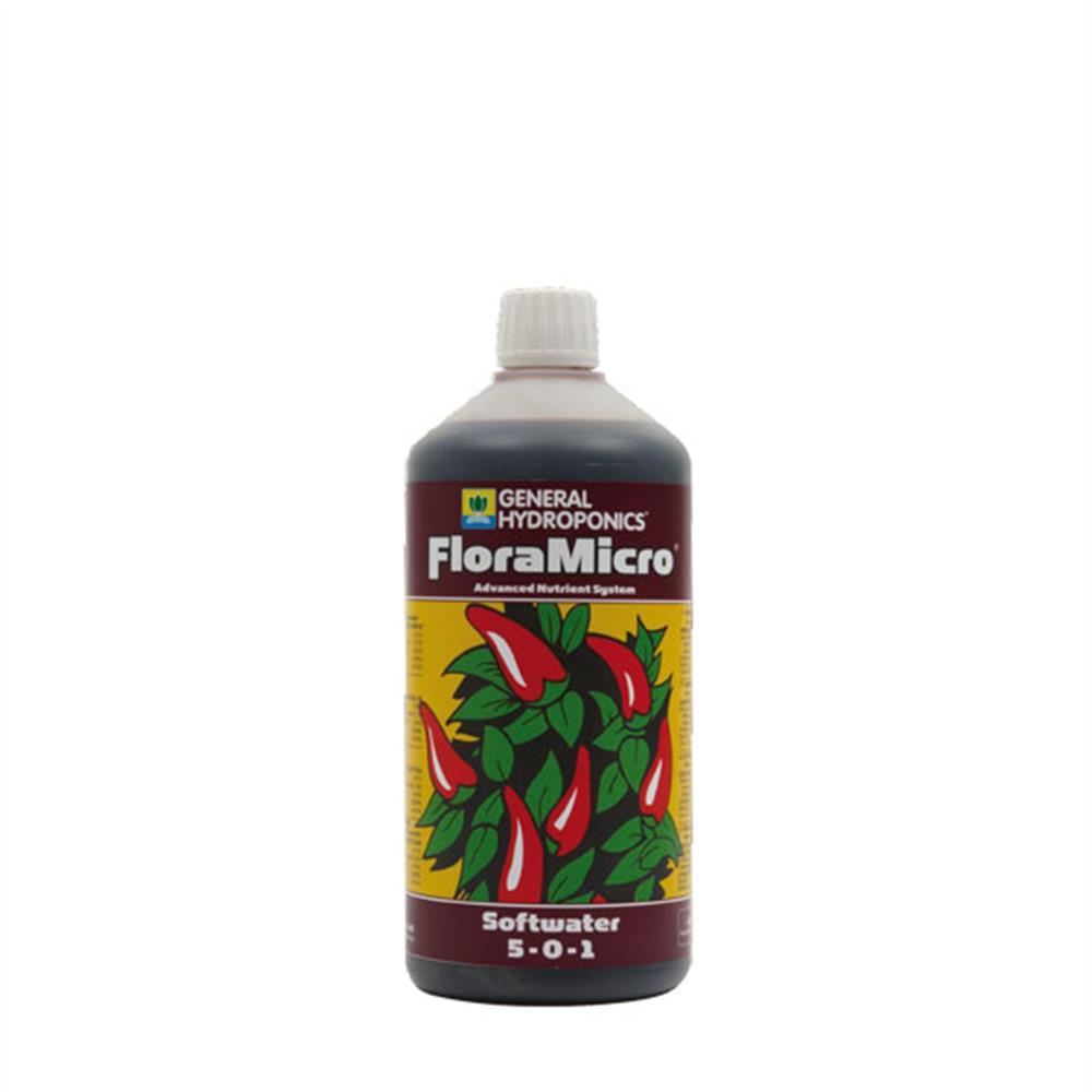 General Hydroponics Flora Micro Weichwasser
