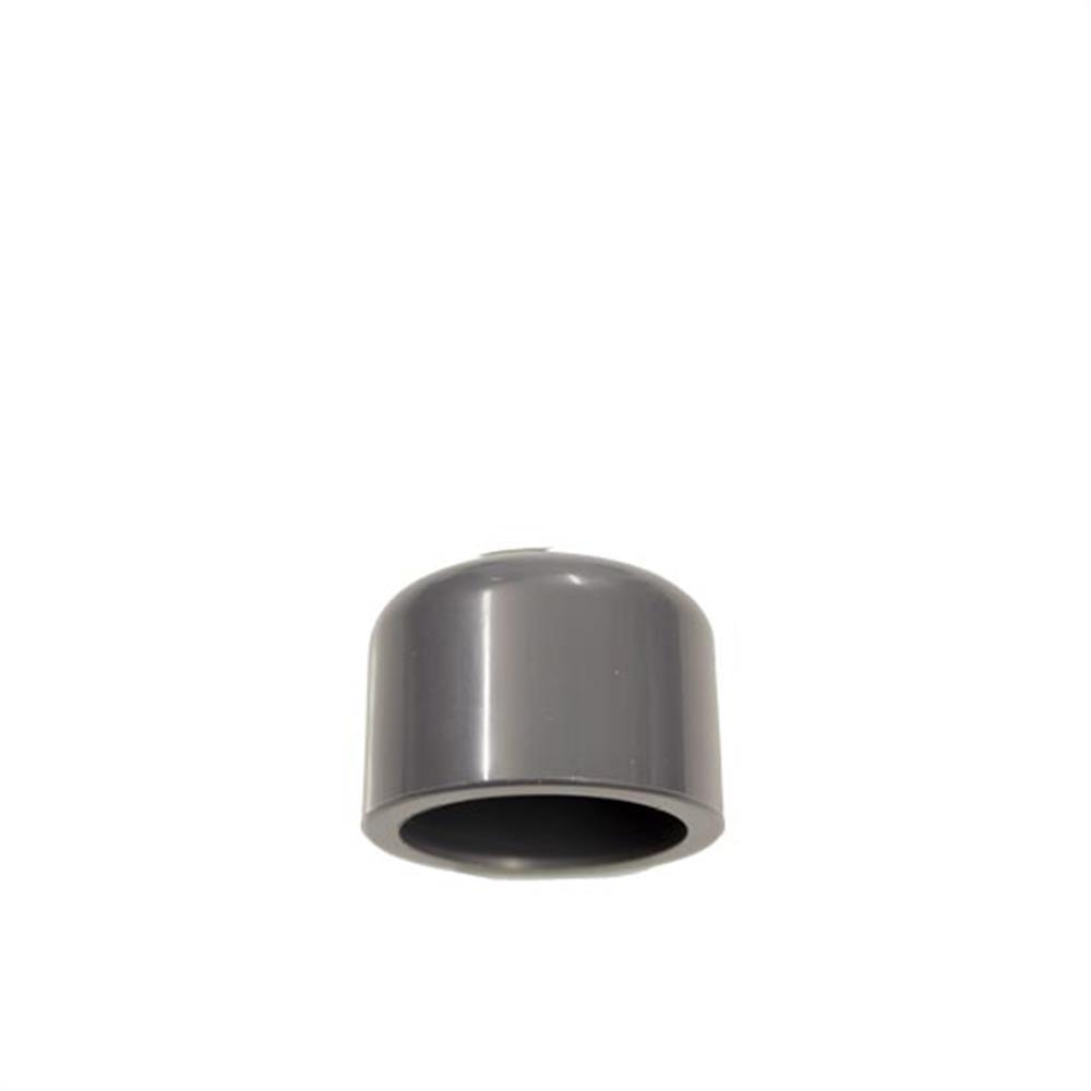 PVC Endkappe zum Aufkleben 32 mm