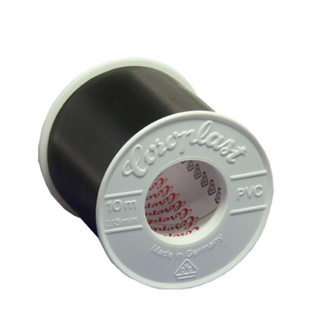 Klebeband PVC 5 cm schwarz